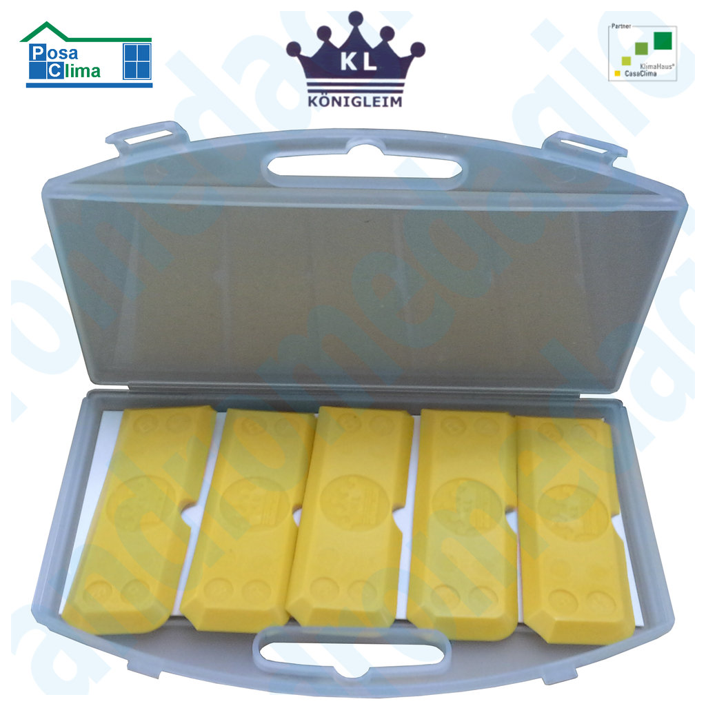KONIGLEIM SILICON SPACHTEL 5 PCS