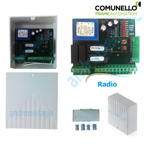 CONTROL UNIT 230V INTEGRATED RADIO