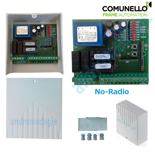 CONTROL UNIT 230V NO-RADIO