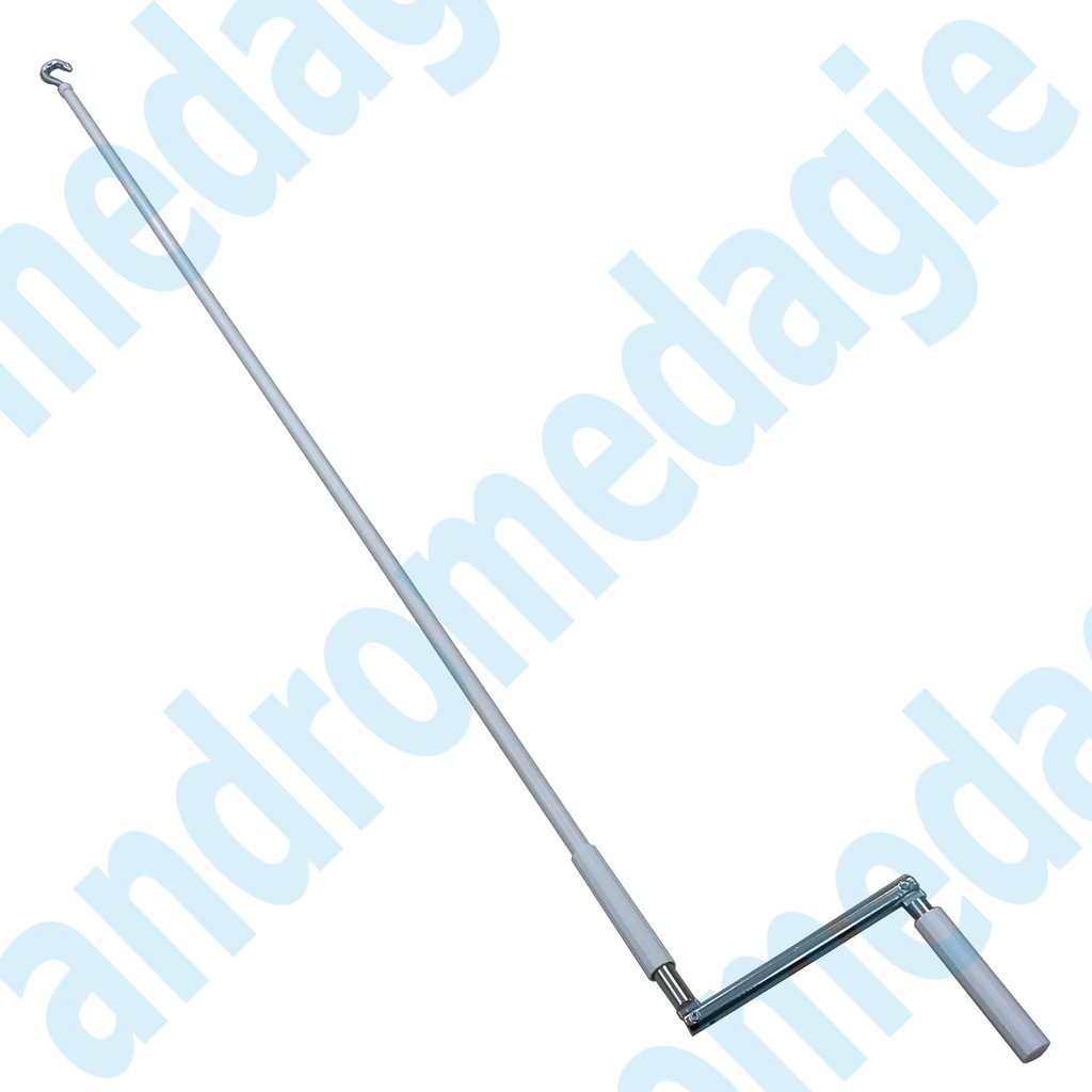 ARTICULATED MANUAL ROD WITH HOOK L=1800 MM
