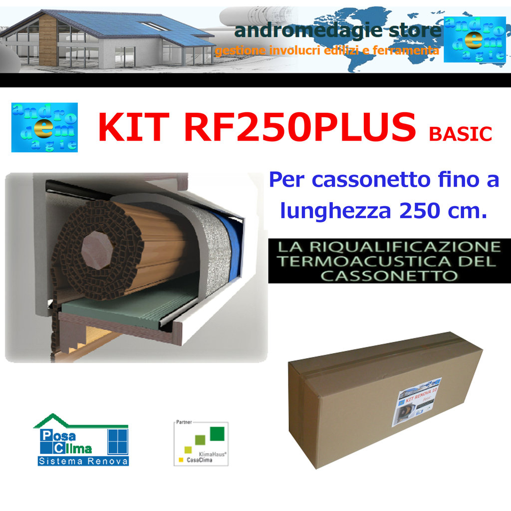 RF250PLUS BASIC KIT RENOVA SYSTEM FOR ROLLER SHUTTERS