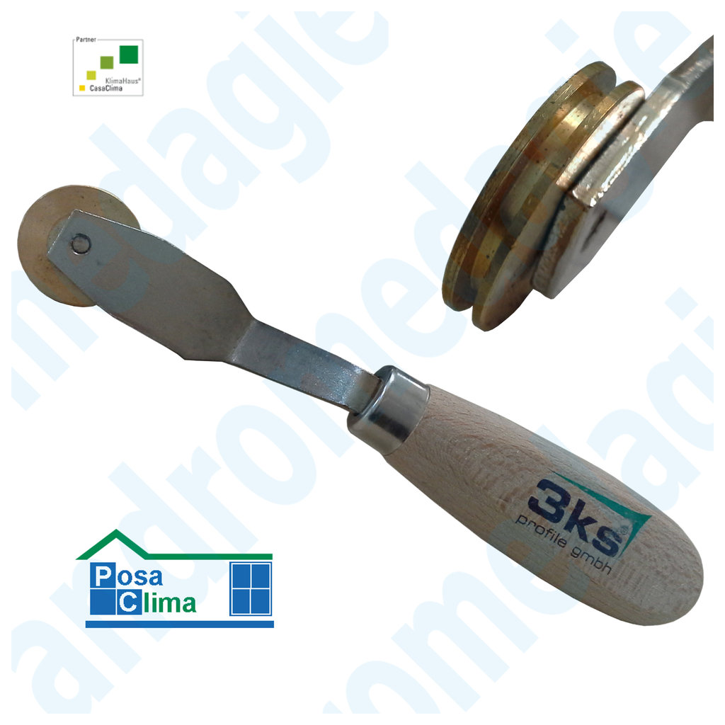ROLLER FOR PROFILE PLASTER BASE