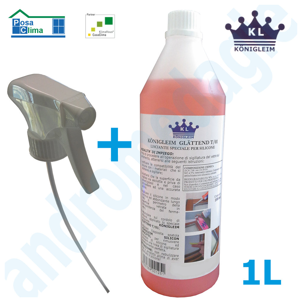 GLATTEND T/01 SMOOTHING SEALANTS 1LT WITH NEBULIZER ECO
