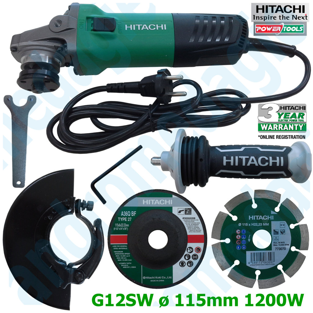 HITACHI G12SW+WHEEL